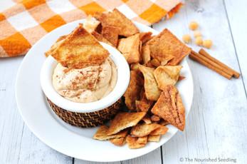Creamy Honey and Cinnamon Chickpea Dip