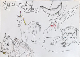 Magical, mystical creatures...Jane
