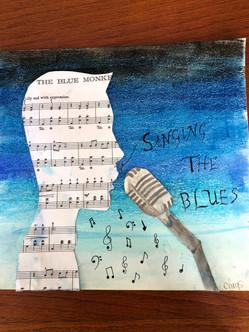 Singing the blues...Carys