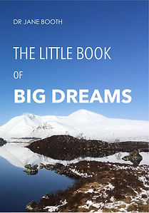 Little book of big dreams cover page - f