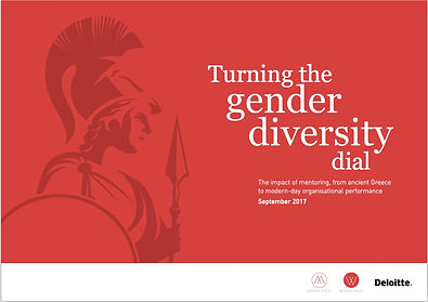 Turning the gender diverstiy dial image.