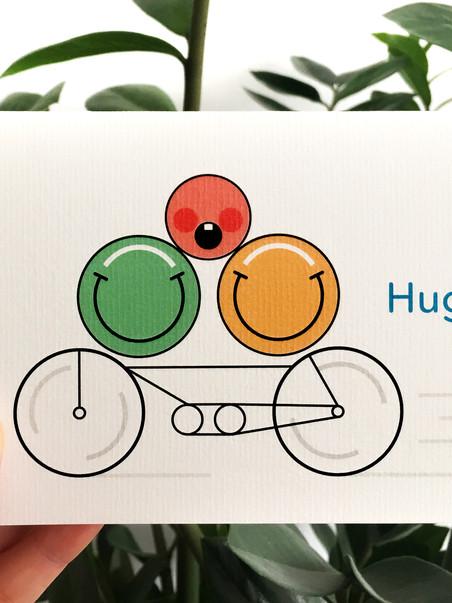 Hello Hugo! - a very Dutch birth announcement