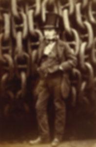 Isambard_Kingdom_Brunel_Standing_Before_