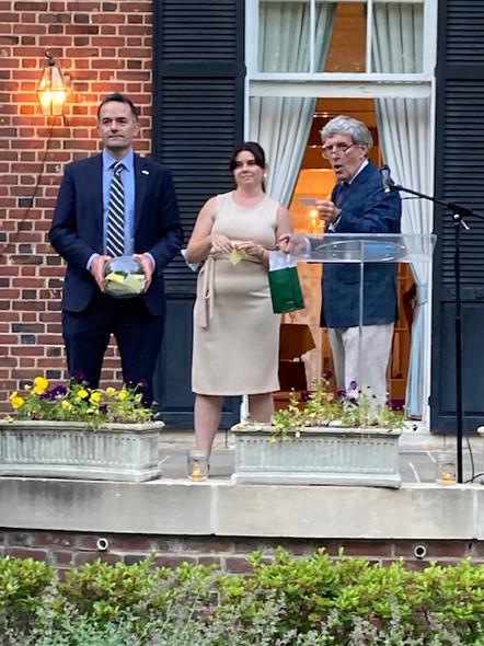 Celebration of Irish Whiskies from the Republic of Ireland and Northern Ireland at the Ambassador's Residence