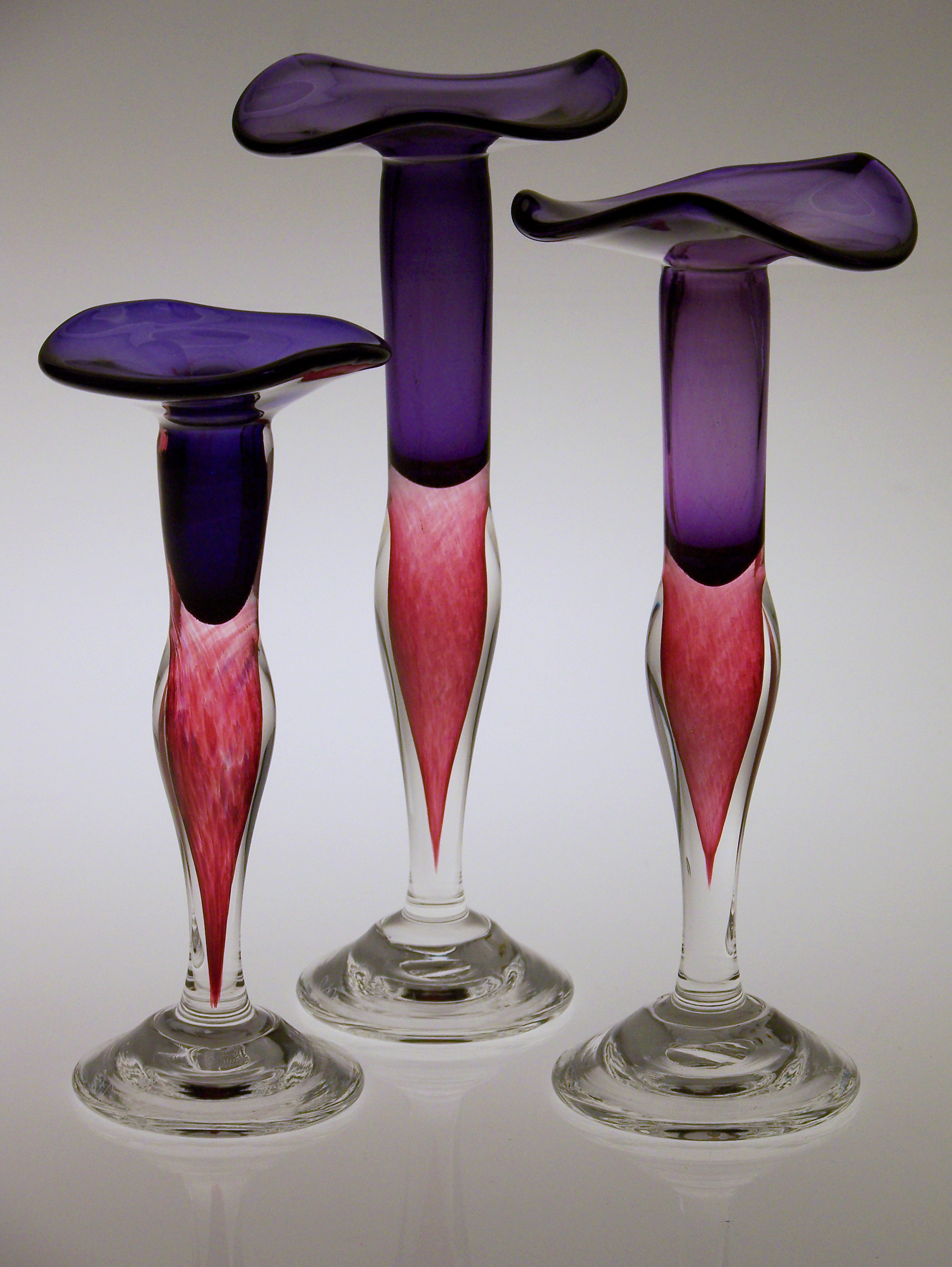 Purple-Ruby Candlesticks