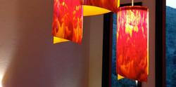 Scarlet Hanging Lights