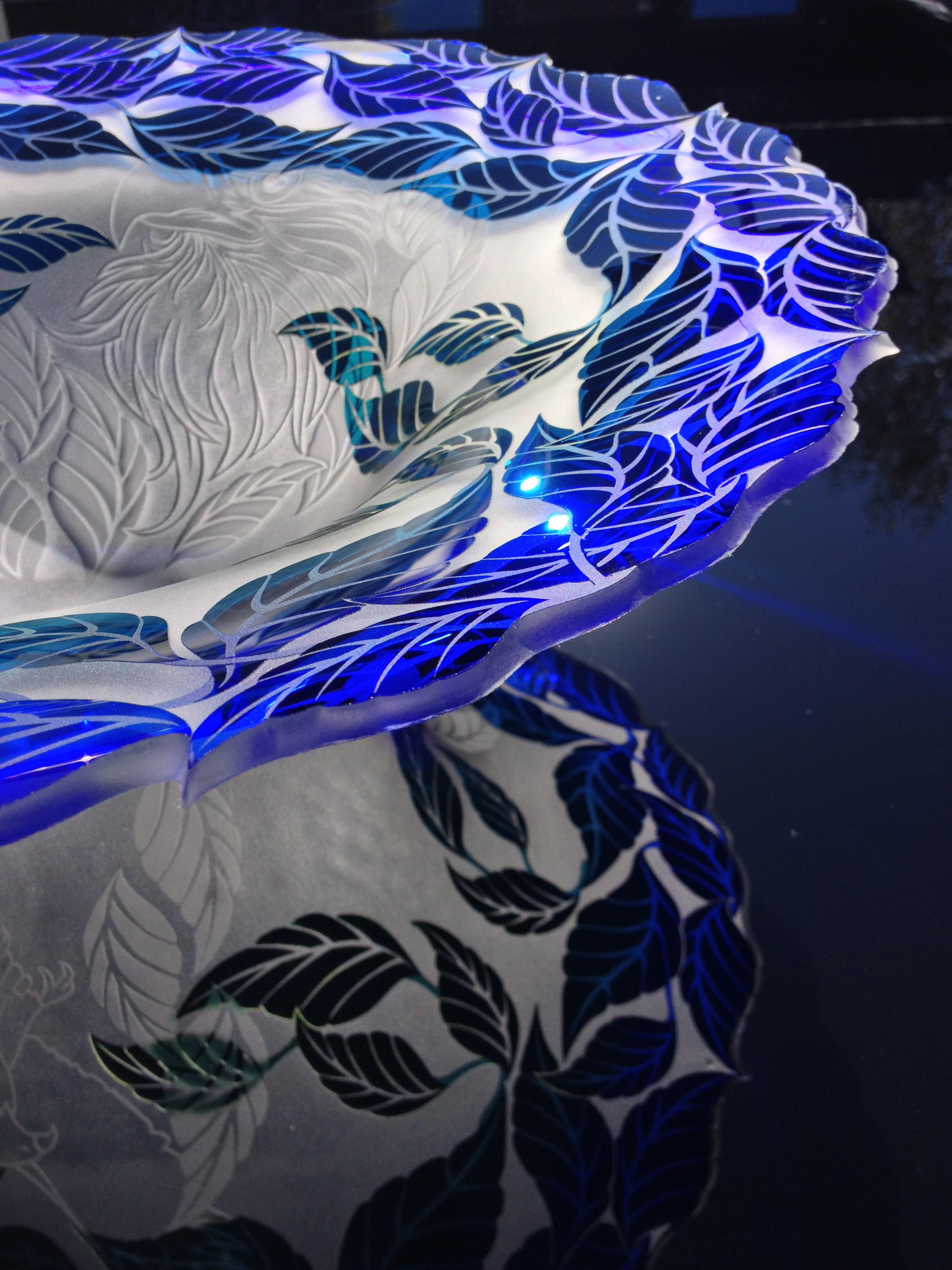Blue Leaves detail