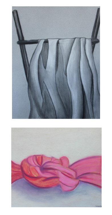 Antithesis (Charcoal and Chalk Pastel)