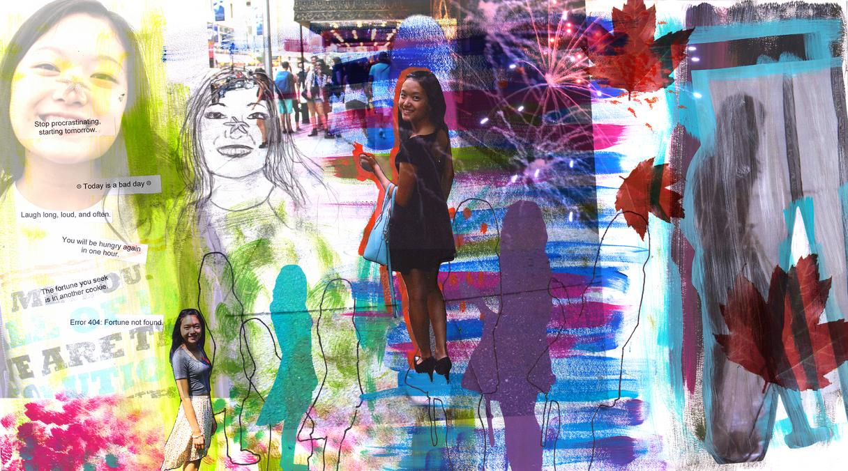 Self Portrait 2015 (Mixed Media)