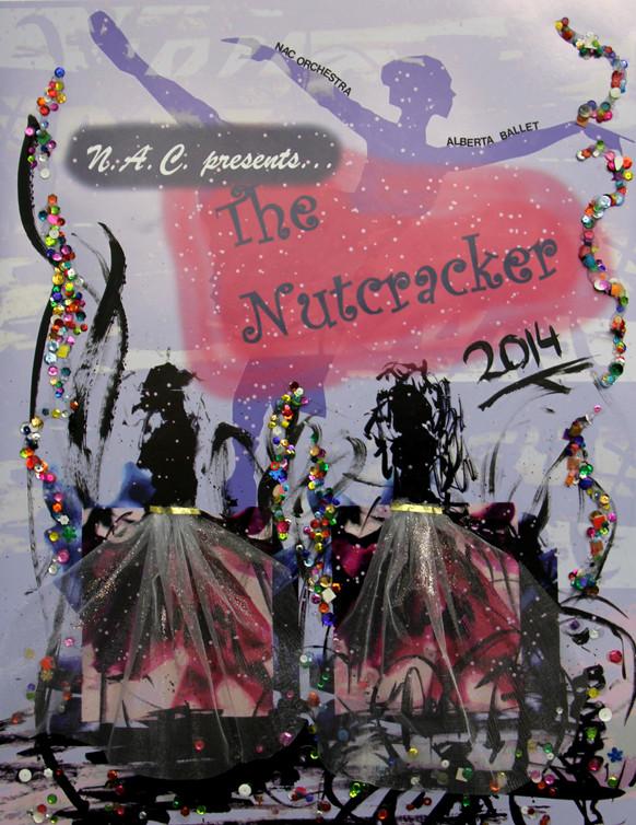 The Nutcracker (Mixed Media Poster)
