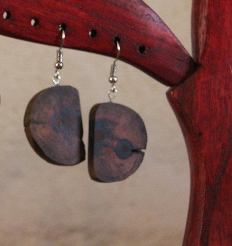Boucles d'oreille Lune 3