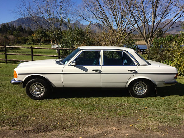 Our most recent Classic Car for sale in Stellenbosch