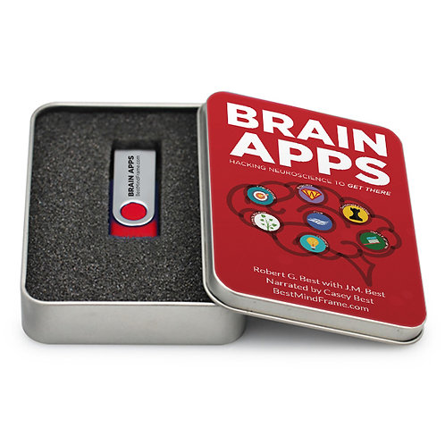 Brain Apps: Hacking Neuroscience To Get There - USB Audio Book