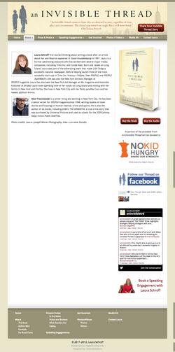 An Invisible Thread   Author Bios