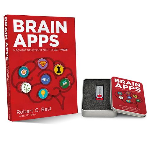 Brain Apps: Hacking Neuroscience To Get There - Paperback + USB Audio Combo Deal