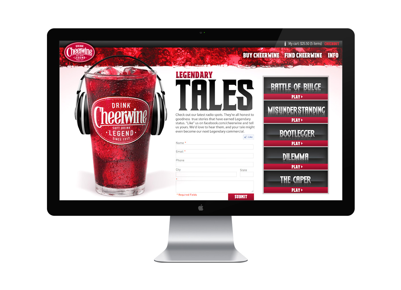 cheerwine-display