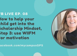 Scholarship Mindset Series, Step 3: motivation