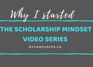 Why I Started the Scholarship Mindset Series
