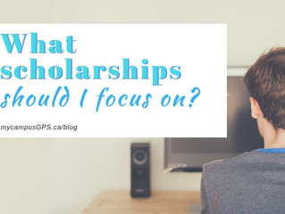 What scholarships should I focus on?
