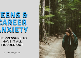 Teens & career anxiety: the pressure to have it all figured out
