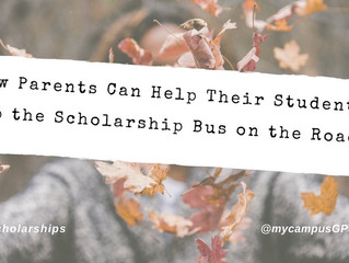 How parents can help their student keep the scholarship bus on the road