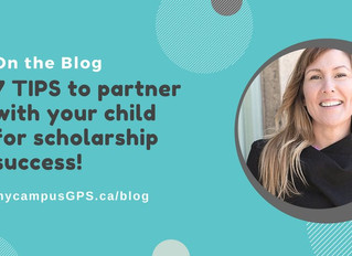 How to Partner with your Child for Scholarship Success