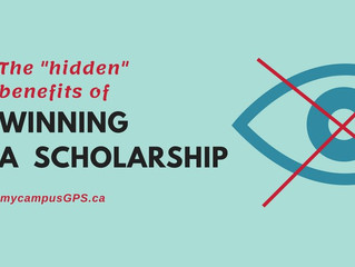 "The ""hidden"" benefits of scholarships"