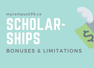 Scholarships: bonuses and limitations
