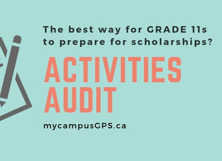 The best way for Grade 11s to prepare for scholarships: do an activities audit