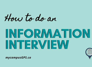 How to do an information interview