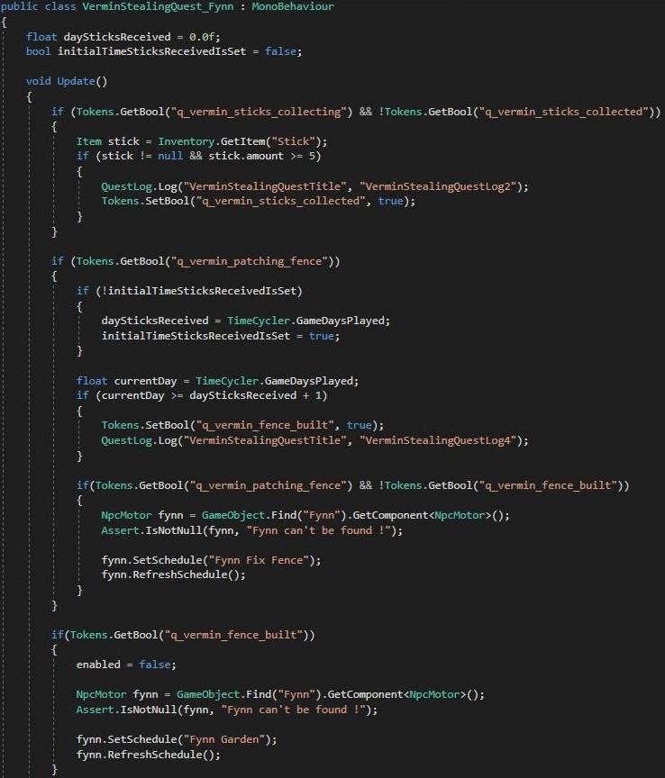 Sample C# Script 2