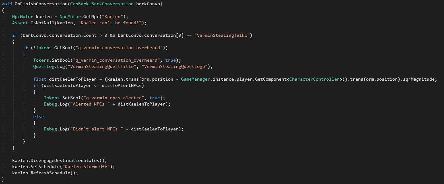 Sample C# Script 1