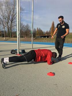 Training with Kostadinovic