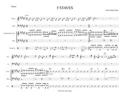 5 STAVES