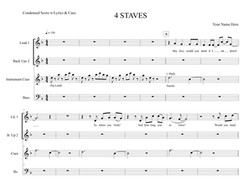 4 STAVES