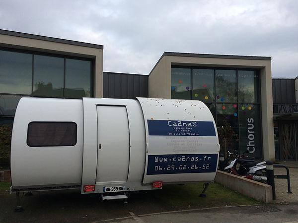 caravane Ca2naS escape game itinérant mobile en Ille-et-Vilaine