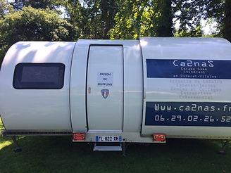 Caravane Ca2naS Escape Game Itinérant en Ille-et-Vilaine à proximité de Rennes