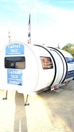 caravane pour Ca2naS escape game itinérant mobile en Ille-et-Vilaine