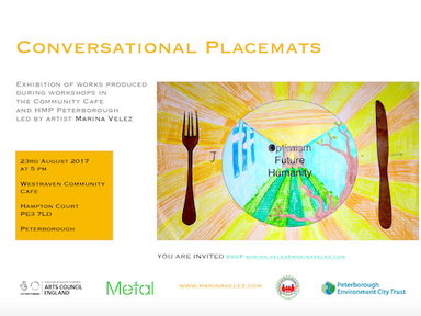 Conversational Placemats