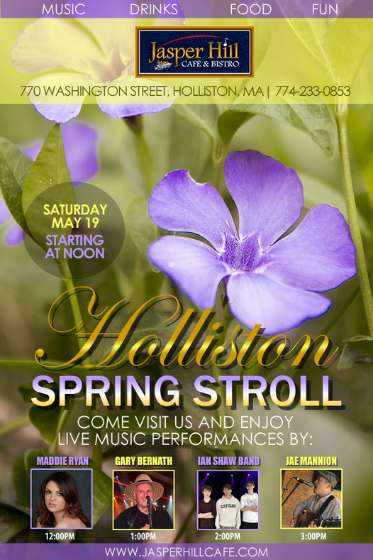 Jasper Hill Holliston Spring Stroll FINA