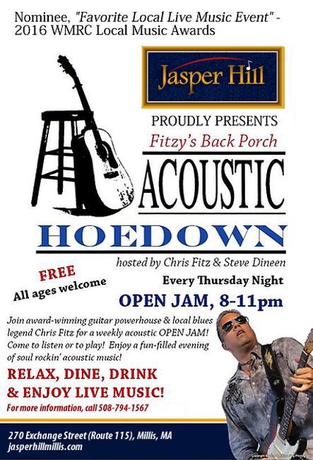 JH Chris Fitz New Hoedown Flyer.png