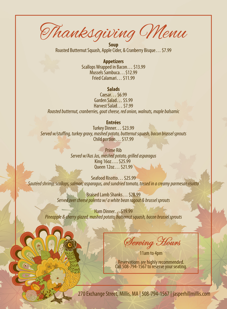 JH Thanksgiving Menu No Logo.png