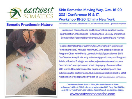 Shin Somatics Conference & Workshop in Elmira NY, Oct. 16-20, Open to Everyone