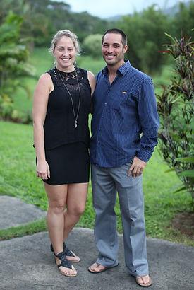 Kauai freedive instructors Josh Meneley and Michelle Marsh