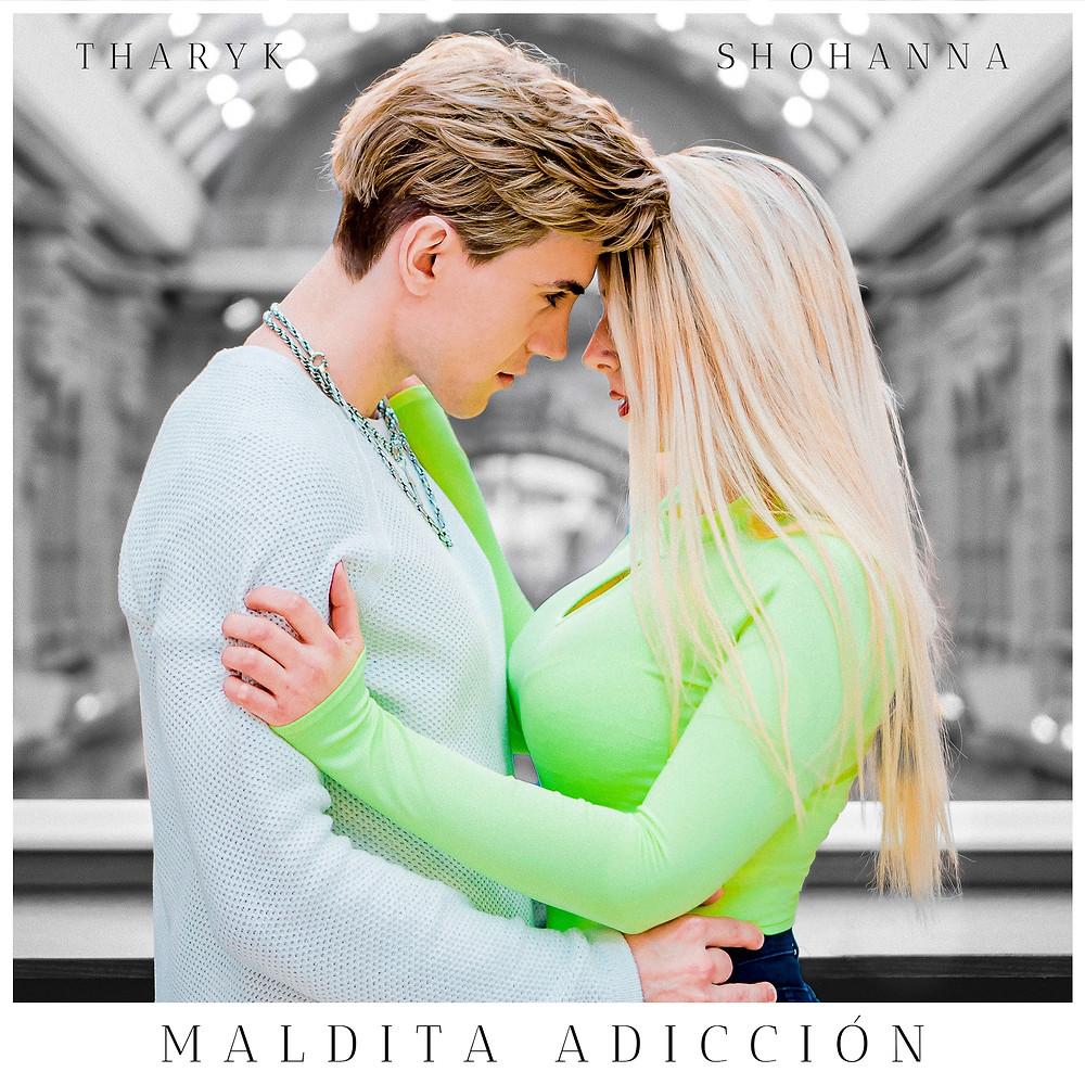 Maldita Adicción - Tharyk, Shohanna (Official Cover Art)