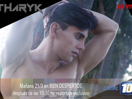 Tharyk en el programa Bien Despiertos - Canal 10 Córdoba
