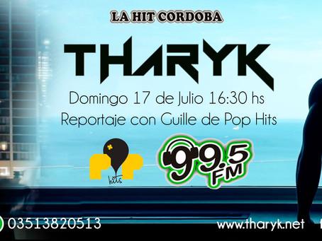 Entrevista con Tharyk en POP HITS 99.5 FM