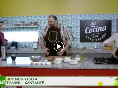 Tharyk en La Cocina Con Luis - Cocina, Humor y Música
