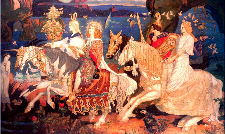 4th Century Celtic Iberian painting