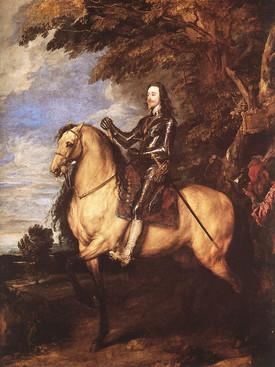 Anthony van Dyck - Charles I on Horsebac